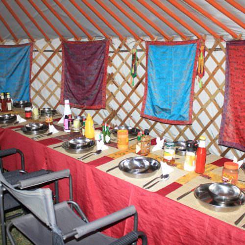 Mongolia dinner time