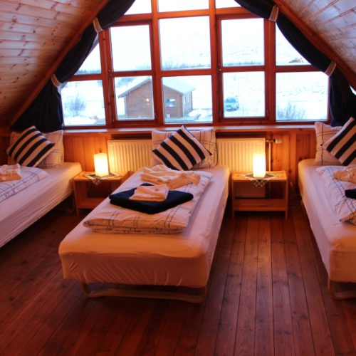 Iceland cottage room