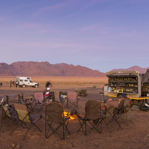 Basic camping Nambia