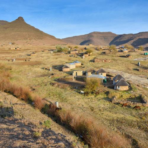 Lesotho - Thamatu Lodge