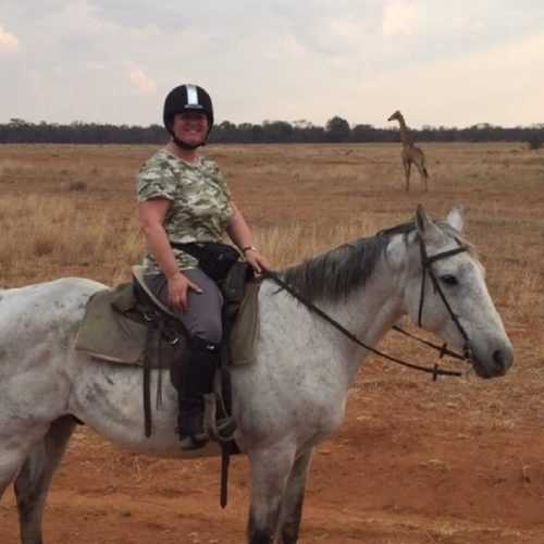 Riding in South Africa
