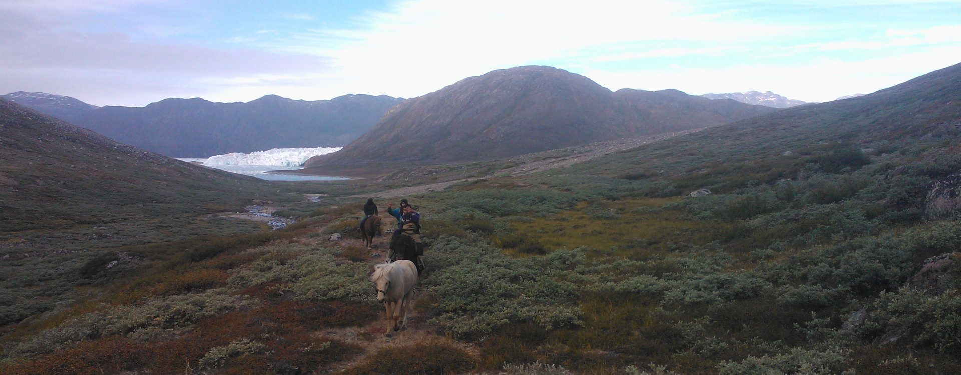 Riding in Greenland