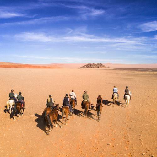 Namibia riding