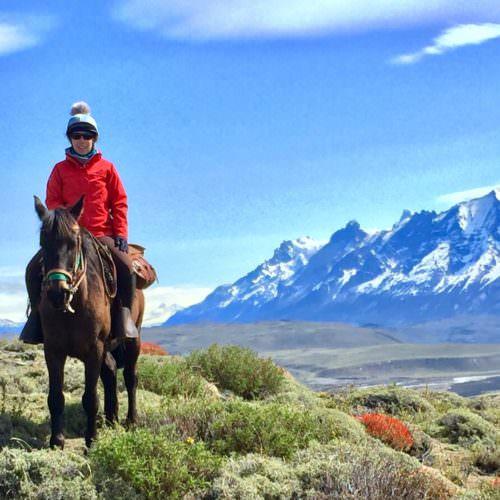 Ride from Cerro Guido