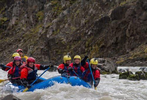 Iceland rafting