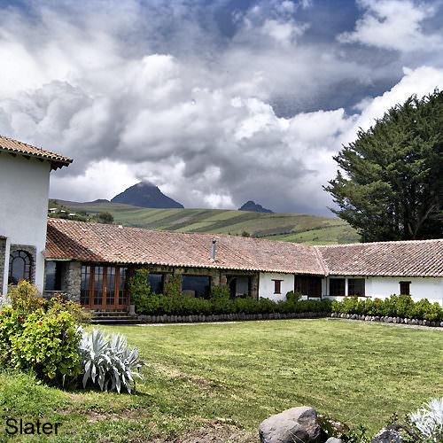 Luxury hacienda Ecuador
