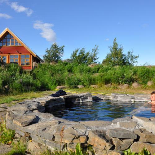 Iceland hot tub