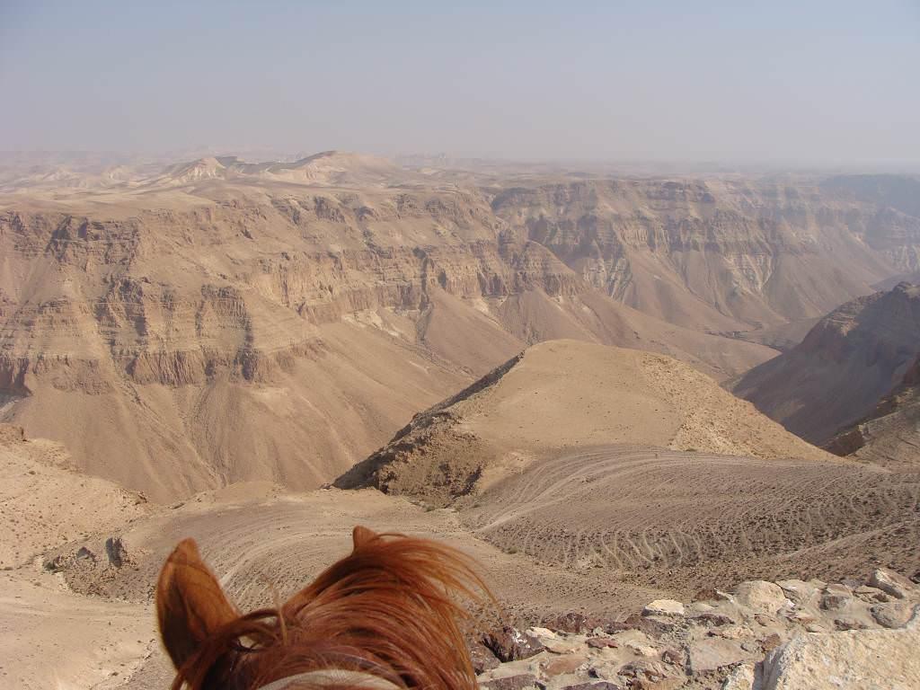 Israel desert riding