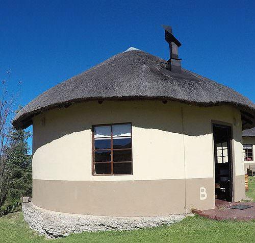 Lesotho - Khotso rondavel