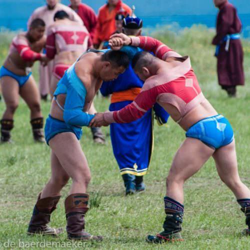 Mongolia Naadam Games