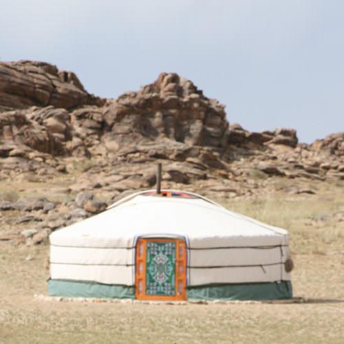 Mongolia Steppe Nomad