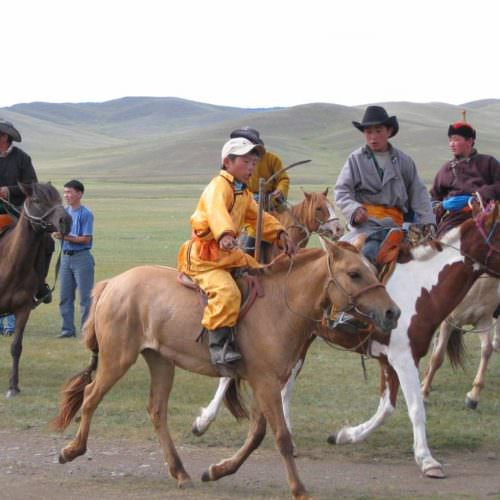 Mongolia Naadam