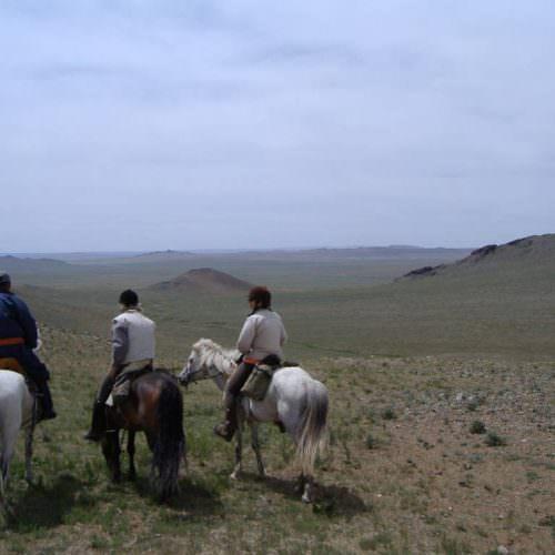 Mongolia steppes