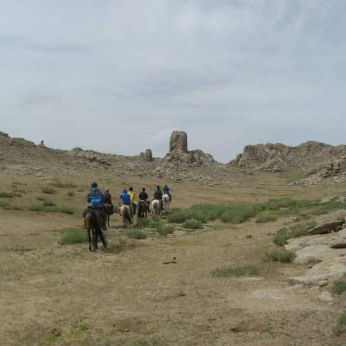 Mongolia Gobi Steppe