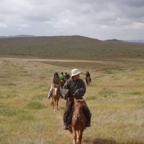 Mongolia riding steppes
