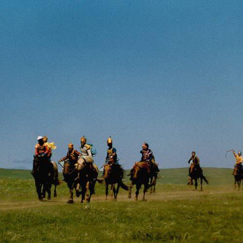 Mongolia Naadam horse race