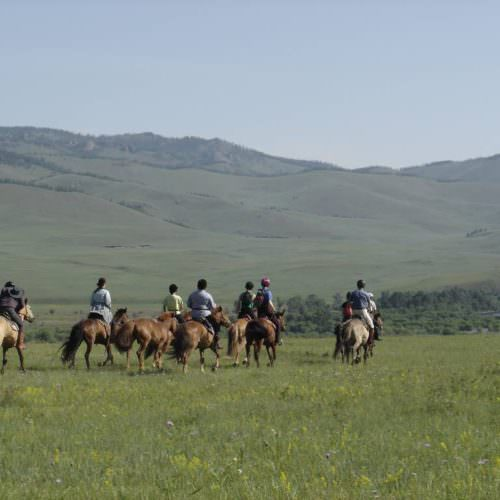 Mongolia canter