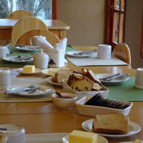 Breakfast in Chile