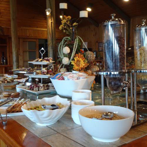 Estancia breakfast in Chile