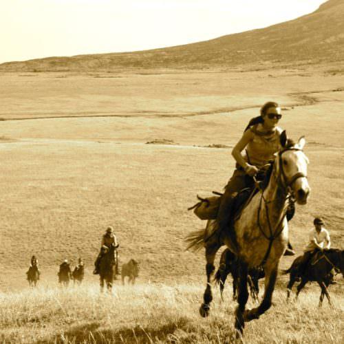 Galloping in Tanzania