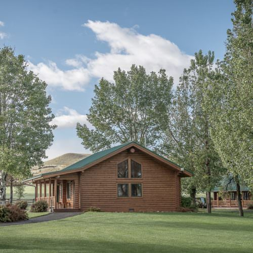 Hideout Ranch cabins