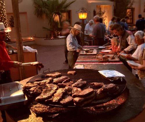 BBQ night at White Stallion Ranch