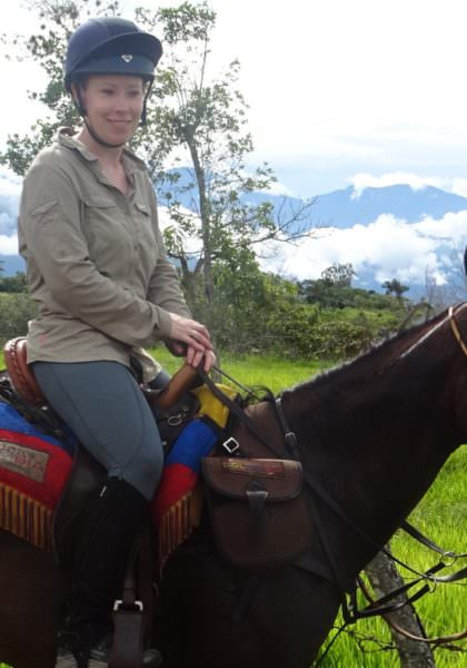 Riding in Colombia