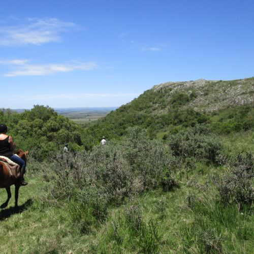 Uruguay Balcon del Abra. Beach riding holidays in Uruguay with In The Saddle.