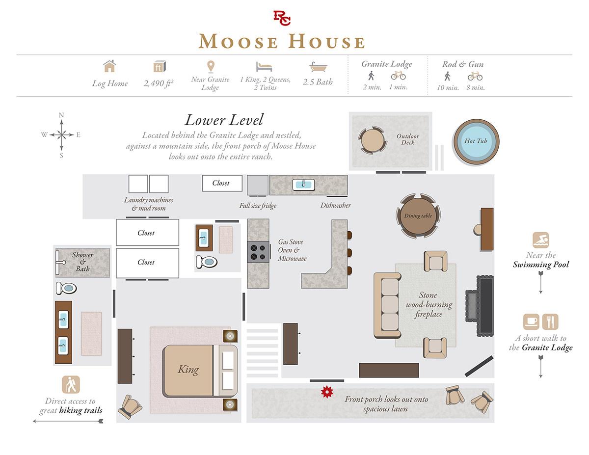 Ranch at Rock Creek - Moose House