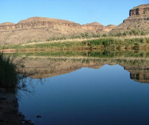 namibia lake