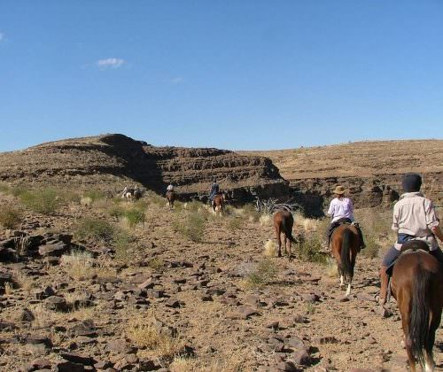 trail riding namibia