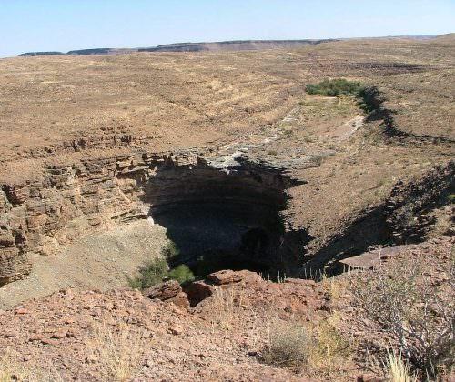 namibia canyons