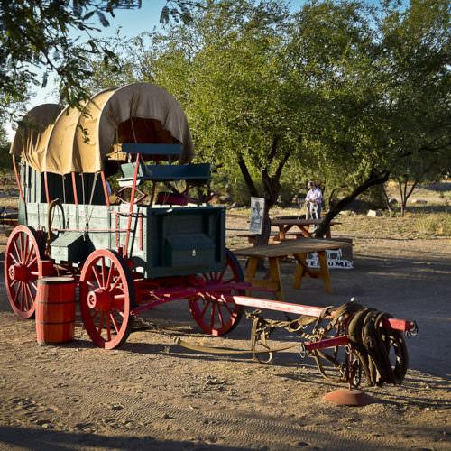 Arizona Bill's Chuck Wagon for breakfast cookouts