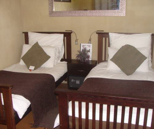Twin room at stables