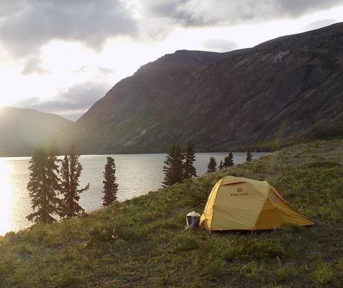 Yukon - camping