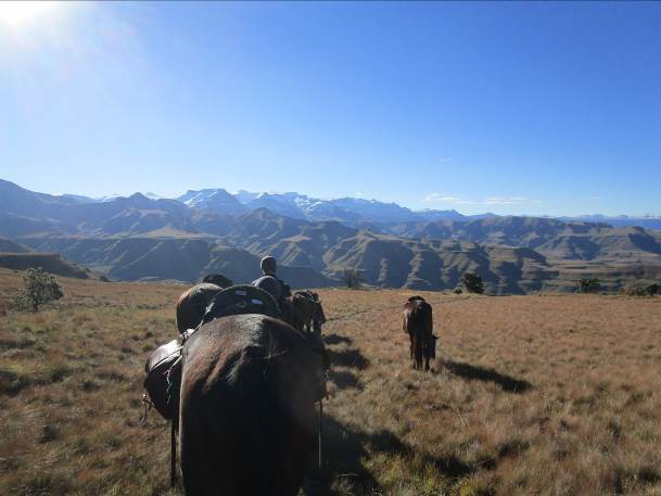 my riding expedition in lesotho