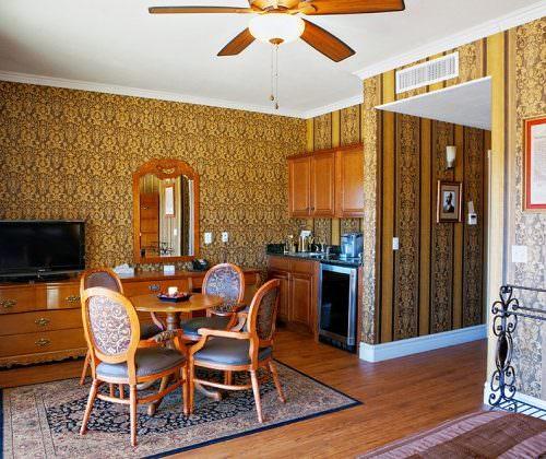 Luxury ranch accommodation
