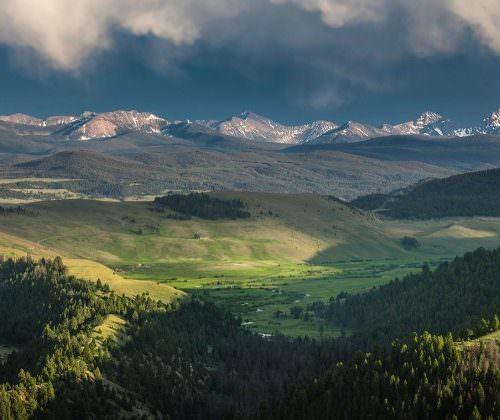 beautiful views Ranch at Rock Creek, Montana