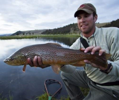 Fishing is another popular activity on the ranch.