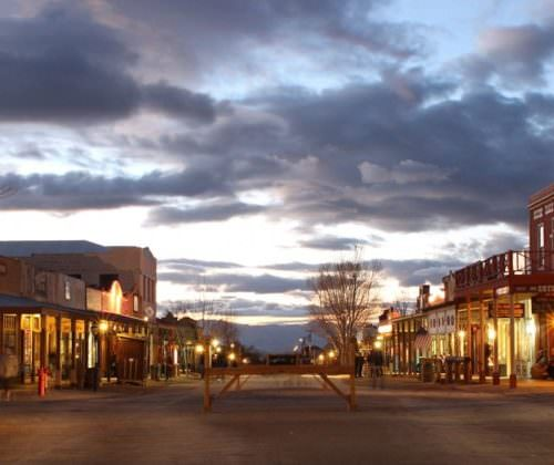 Tombstone, The Town Too Tough To Die. Riding holidays in Arizona