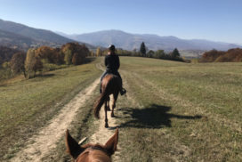riding trails in romania