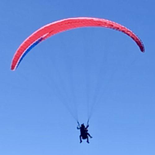 Paragliding in Crete