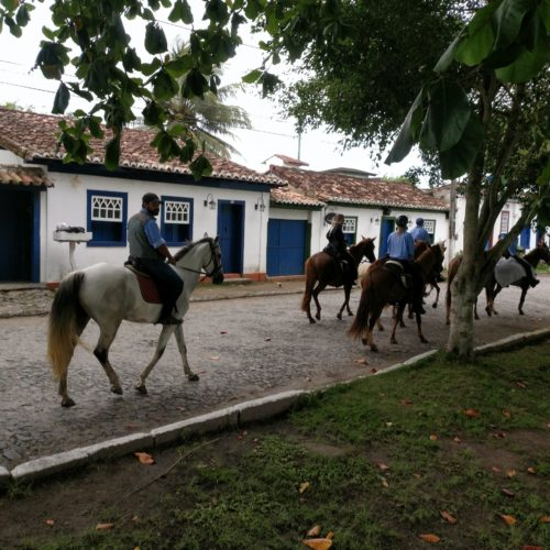 Trail riding holidays in Brazil. Horses, traditional village.