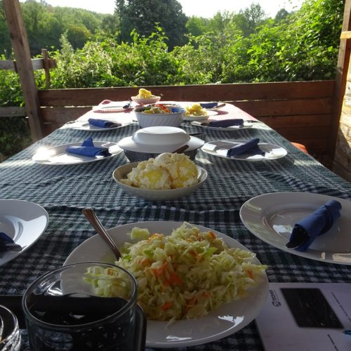 Lunch at the ranch
