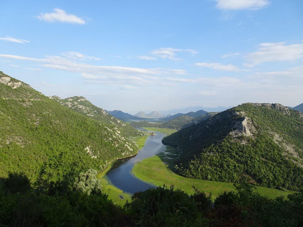 Mountain scenery in Croatia