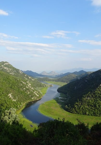 Mountain scenery in Croatia