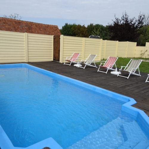 Swimming pool in Croatia