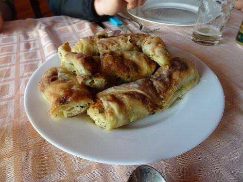 Traditional food in Croatia