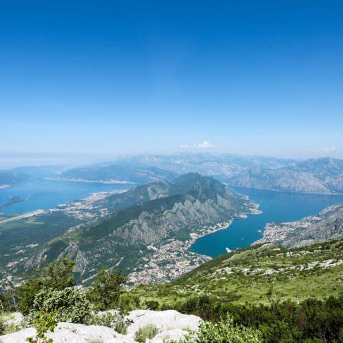 Montenegro has varied landscape