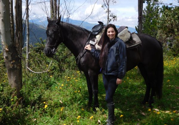 Riding in Ecuador